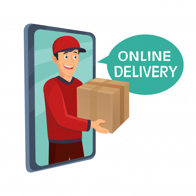 young man courier delivery services holding large box 88114 62 - Top online delivery platform in Malaysia.